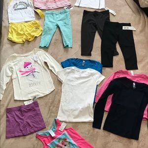 Other - Lot of 15 Girls Size XS (4) Clothing NWT